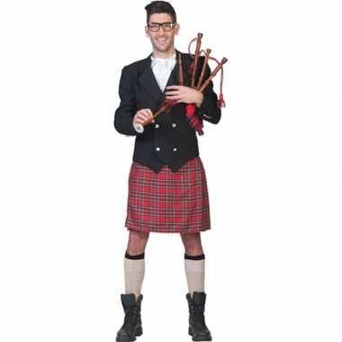 Schotse kilt outfit voor heren